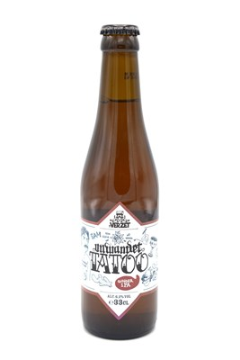 Unwanted Tatoo Ginger IPA 33cl
